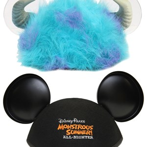 2 of 7: Monstrous Summer - Monstrous Summer All-Nighter event merchandise - hats