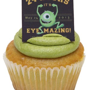 4 of 7: Monstrous Summer - Monstrous Summer All-Nighter food - Main Street Confectionery cupcake