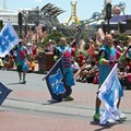 Monstrous Summer - Monstrous Summer pre-parade cheerleaders