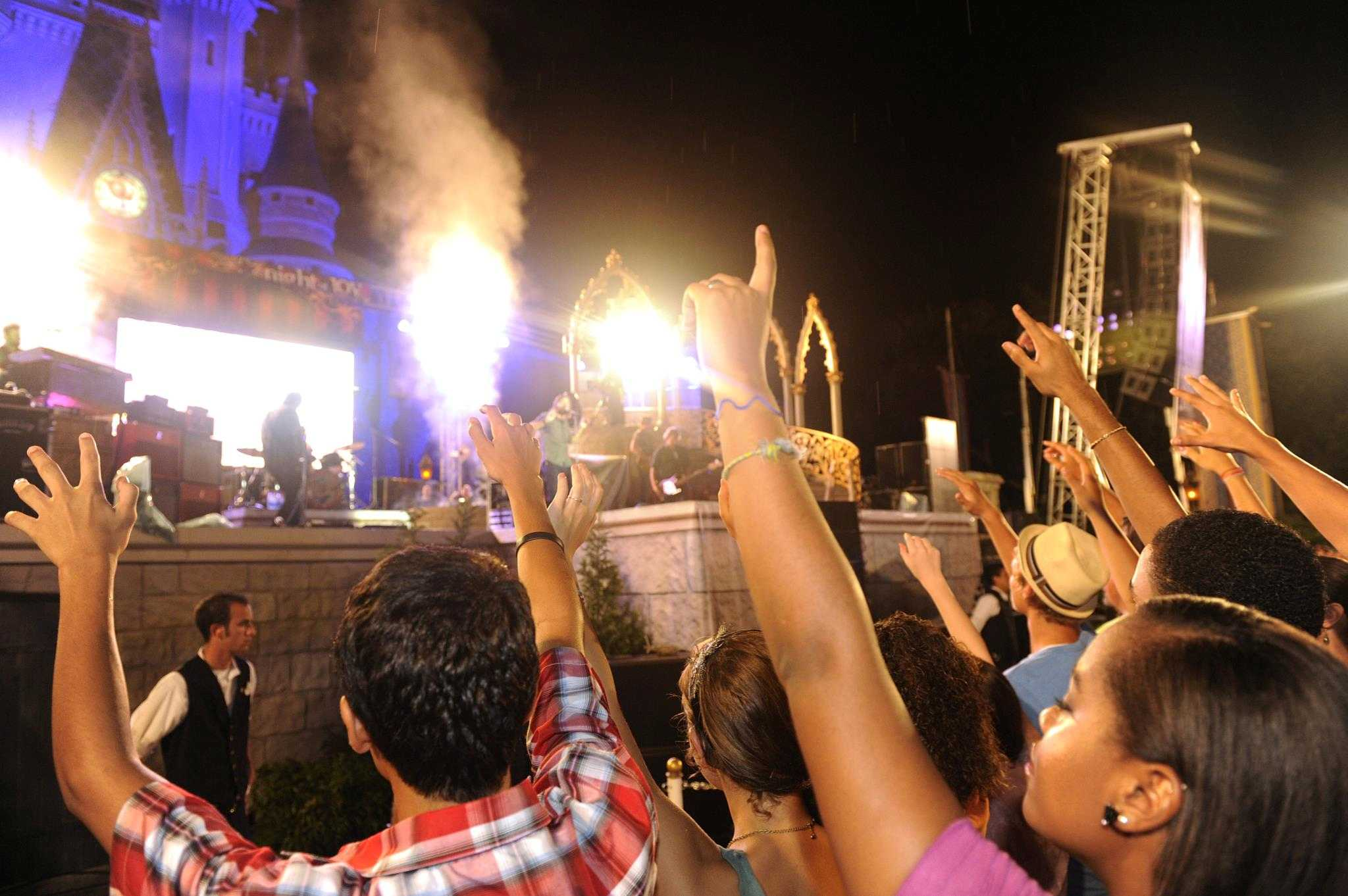 Night of Joy in its old home at the Magic Kingdom