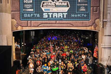 Star Wars Half Marathon – the Dark Side