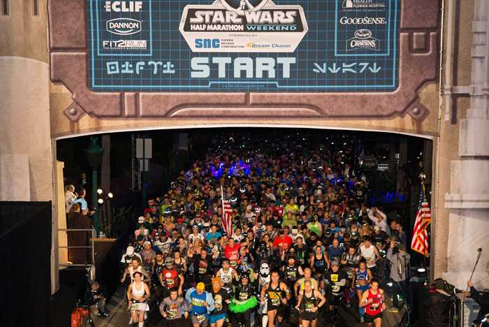 'Star Wars Half Marathon – the Dark Side' overview