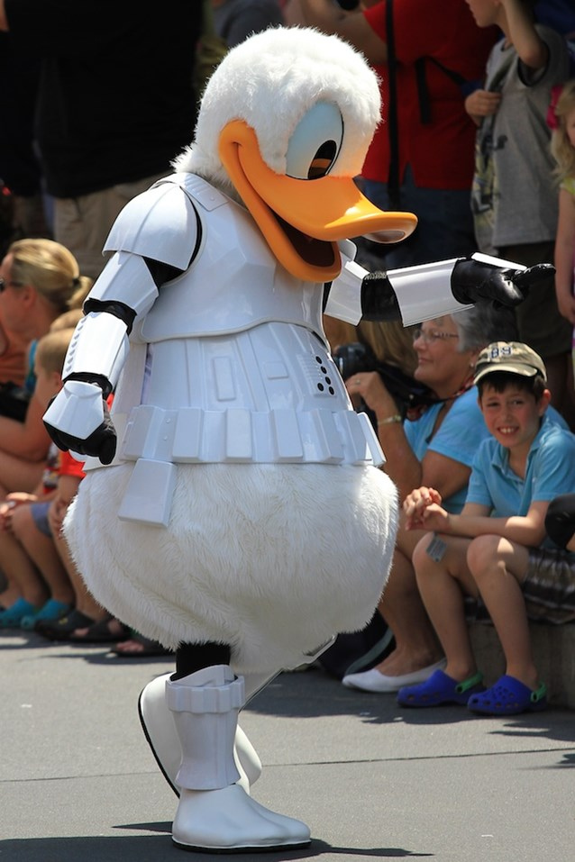 Star Wars Weekends - Storm Trooper Donald Duck