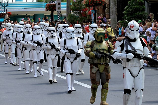 Star Wars Weekends - The 501st Legion - Storm Troopers