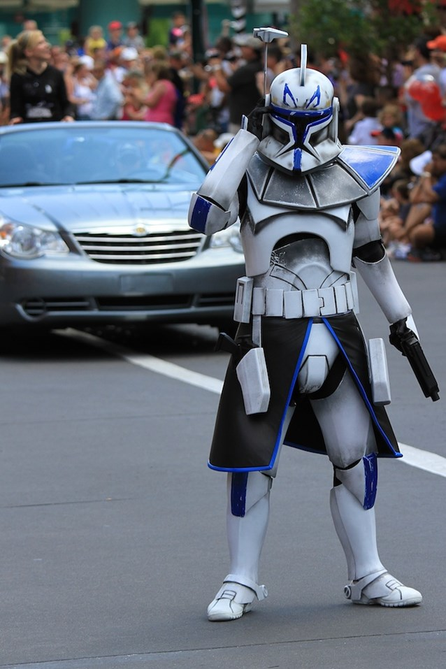 Star Wars Weekends - Clone Captain Rex from the Clone Wars