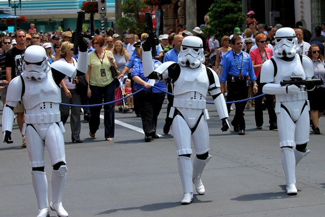 Star Wars Weekends - Storm Troopers