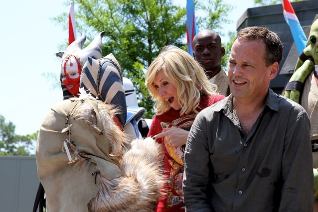 Star Wars Weekends - Dee Bradley Baker and Ashley Eckstein