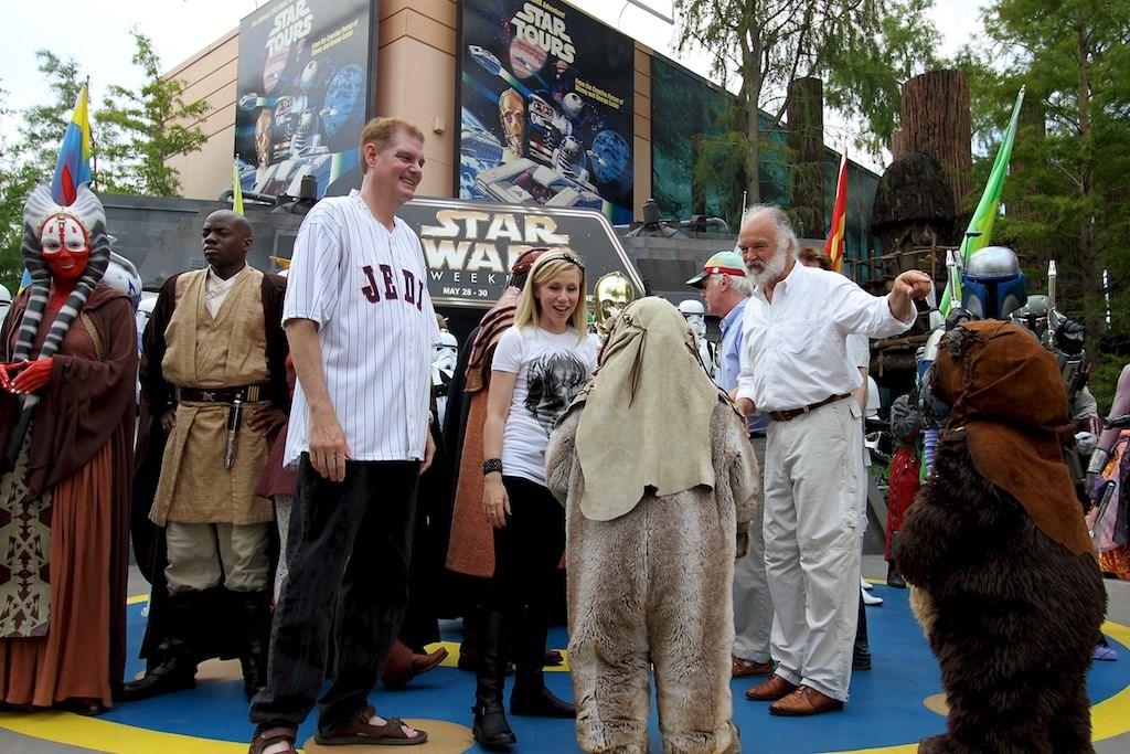 2010 Star Wars Weekends - Celebrity Motorcade - Week 2
