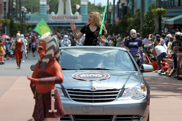 Star Wars Weekends - Ashley Eckstein - voice of Ashoka Tano