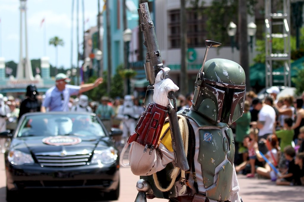 2010 Star Wars Weekends - Celebrity Motorcade - Week 3