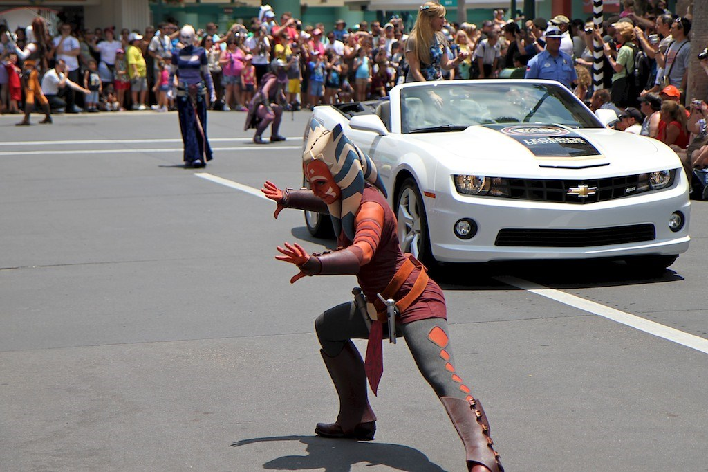 2011 Star Wars Weekends - Legends of the Force motorcade