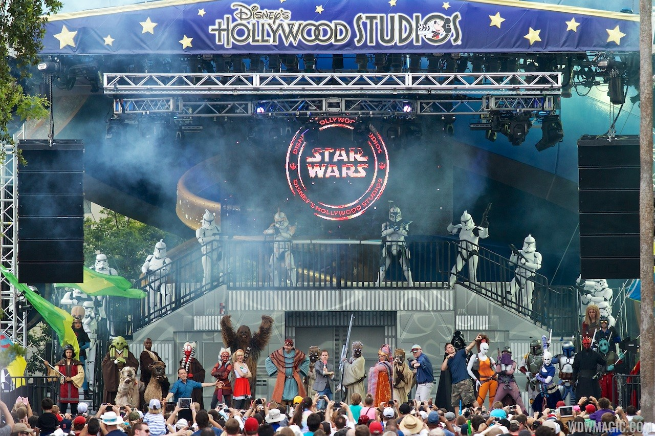 2013 Star Wars Weekends - Weekend 1 Legends of the Force motorcade celebrities