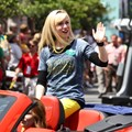 Star Wars Weekends - 2013 Star Wars Weekends - Weekend 2 Legends of the Force motorcade - Ashley Eckstein