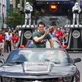 Star Wars Weekends - 2013 Star Wars Weekends - Weekend 3 Legends of the Force motorcade - Sam Witwer