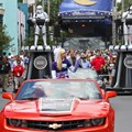 Star Wars Weekends - 2013 Star Wars Weekends - Weekend 3 Legends of the Force motorcade - Ashley Eckstein