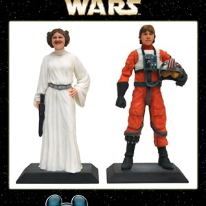 1 of 3: Star Wars Weekends - D-Tech Me Alderaan Princess and X-Wing Pilot
