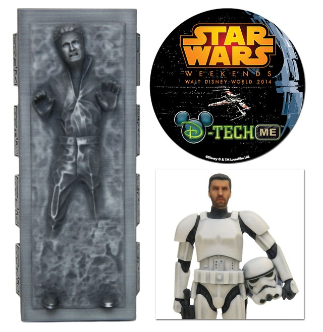 D-Tech MeCarbon-Freeze Me and Stormtrooper