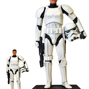 "3 of 3: Star Wars Weekends - D-Tech Me 7"" and 16"" Stormtrooper"