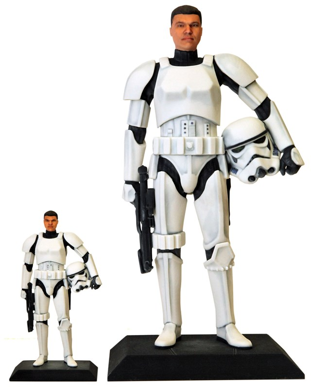 "D-Tech Me 7"" and 16"" Stormtrooper"