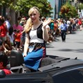 Star Wars Weekends - 2014 Star Wars Weekends - Weekend 1 Legends of the Force motorcade - Ashley Eckstein