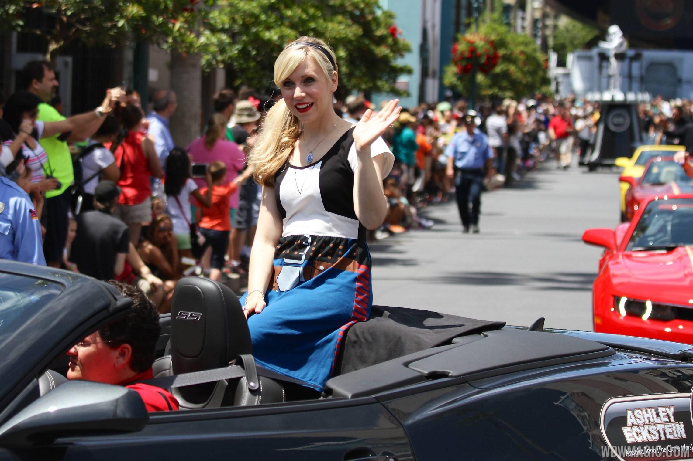 2014 Star Wars Weekends - Weekend 1 Legends of the Force motorcade celebrities