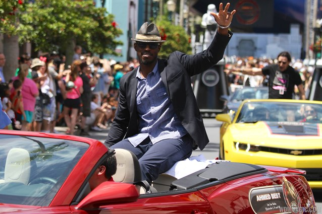 Star Wars Weekends - 2014 Star Wars Weekends - Weekend 1 Legends of the Force motorcade - Ahmed Best