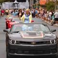 Star Wars Weekends - 2014 Star Wars Weekends - Weekend 3 Legends of the Force motorcade celebrities - Ashley Eckstein
