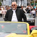 Star Wars Weekends - 2014 Star Wars Weekends - Weekend 3 Legends of the Force motorcade celebrities - John Ratzenberger