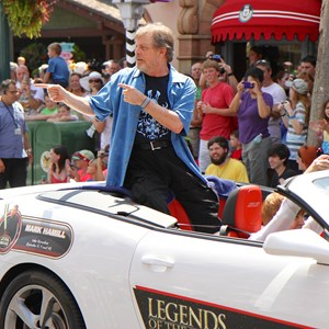 1 of 6: Star Wars Weekends - Mark Hamill at Star Wars Weekends - Legends of the Force Motorcade