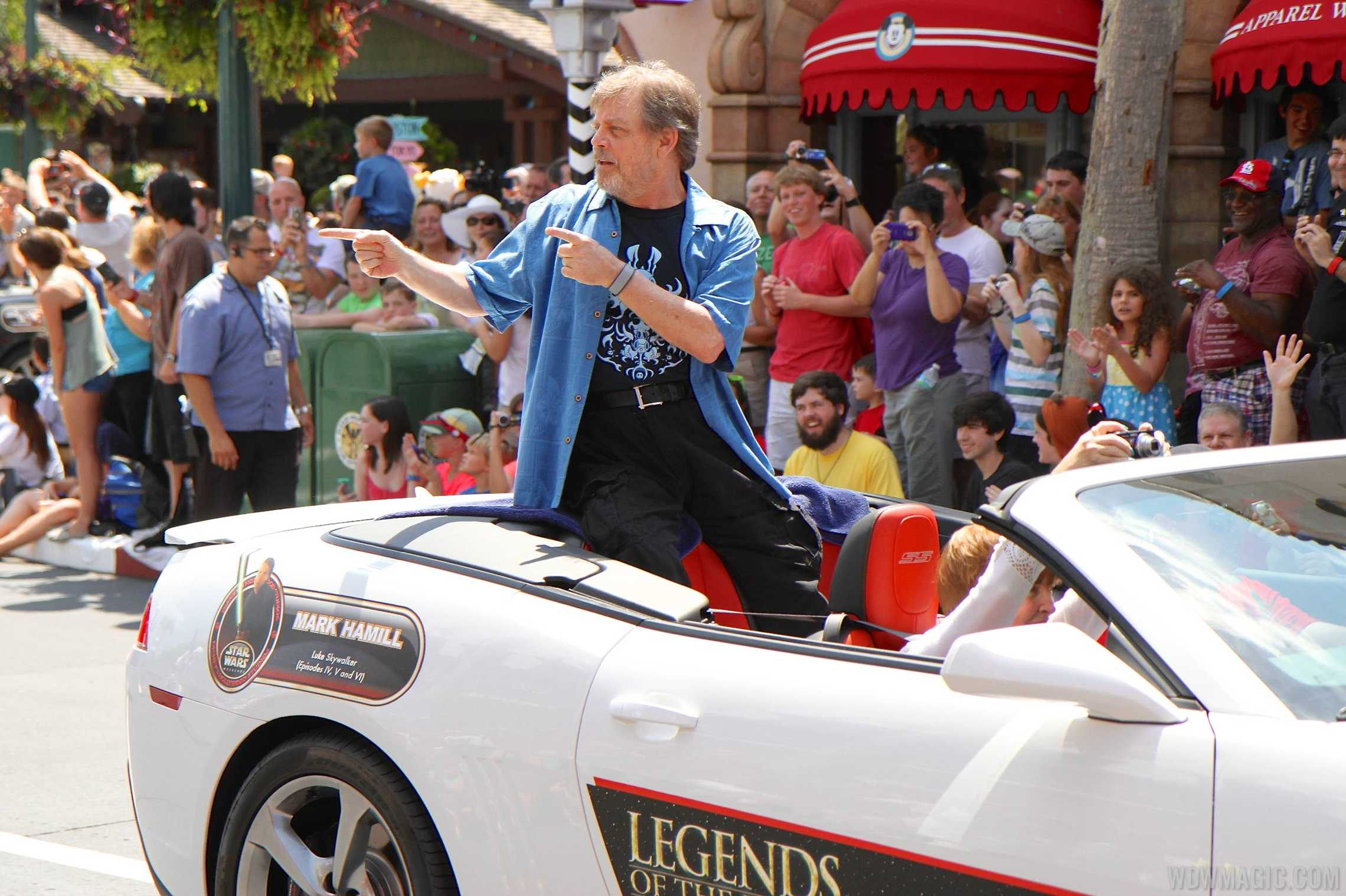 Mark Hamill at Star Wars Weekends