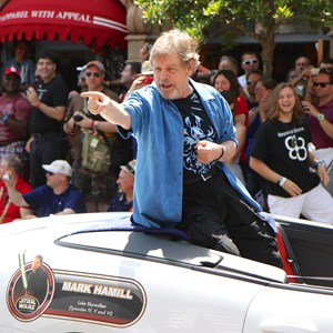 2 of 6: Star Wars Weekends - Mark Hamill at Star Wars Weekends - Legends of the Force Motorcade