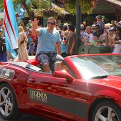 2014 Star Wars Weekends - Weekend 4 Legends of the Force motorcade celebrities