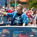 Star Wars Weekends - 2014 Star Wars Weekends - Weekend 4 Legends of the Force motorcade celebrities - Mark Hamill