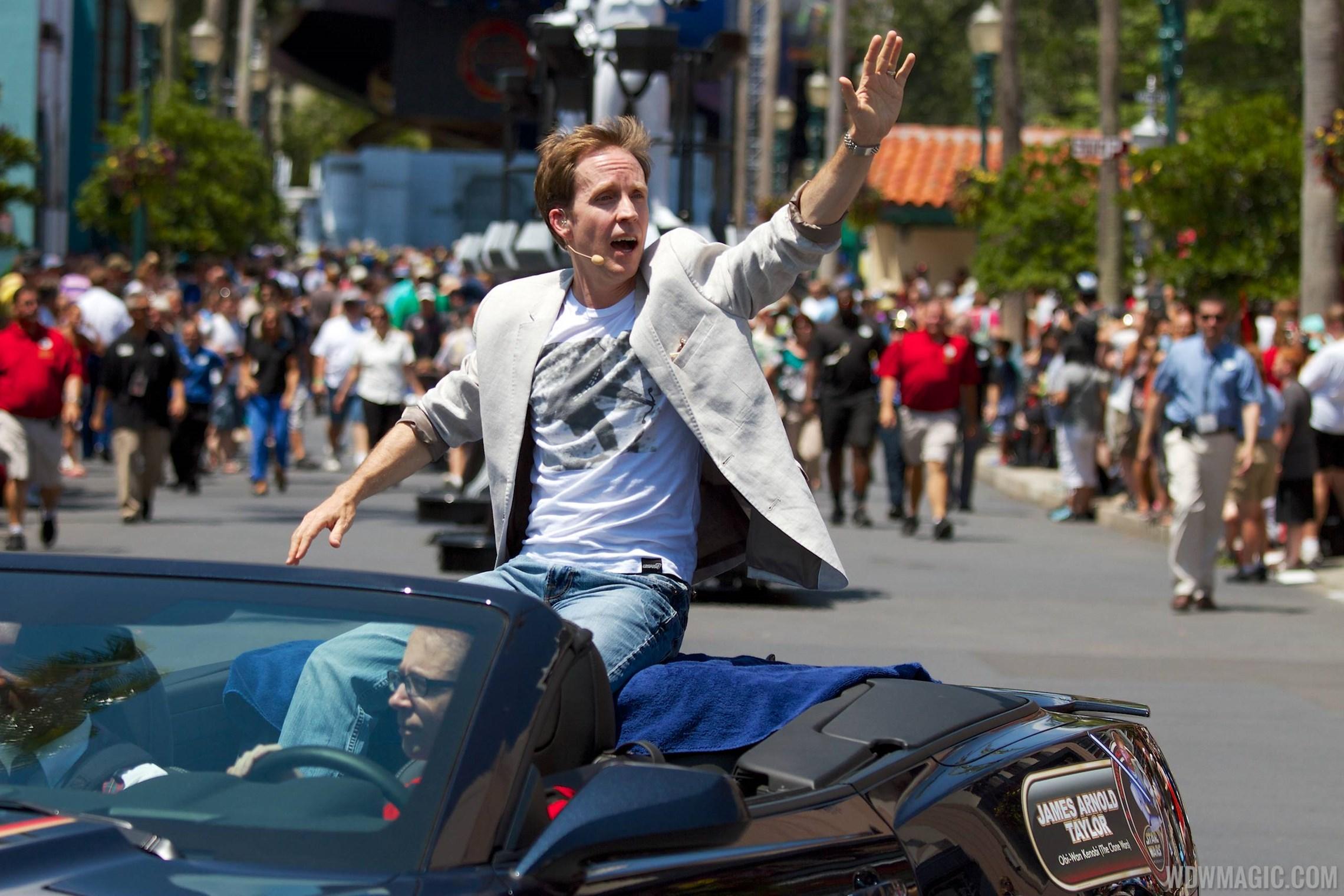 2014 Star Wars Weekends - Weekend 4 Legends of the Force motorcade celebrities