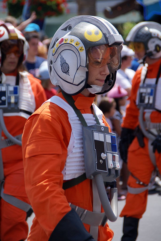 Photos  from the 2008 Star Wars Weekends Star Wars Motorcade