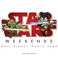 Star Wars Weekends - Star Wars Weekends 2009 logo. Copyright 2009 The Walt Disney Company.