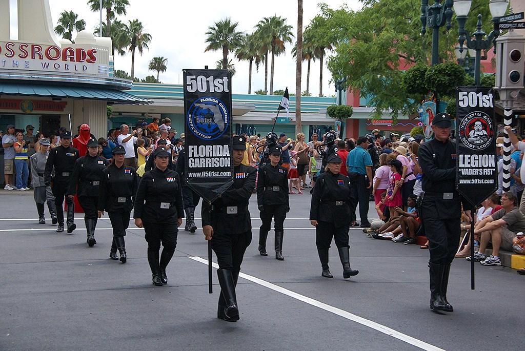 2009 Star Wars Weekends Celebrity Motorcade - opening weekend