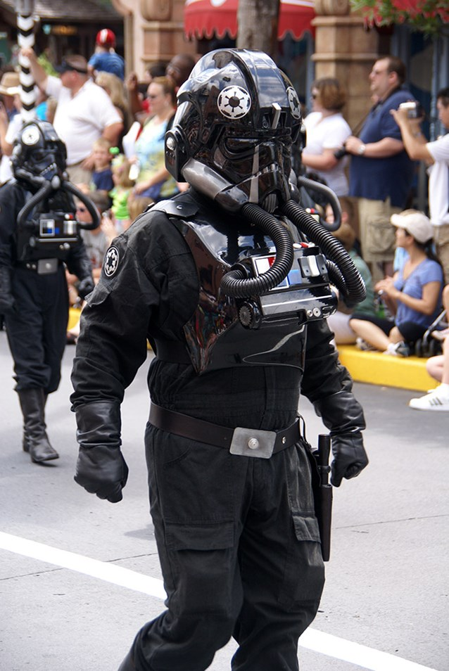 Star Wars Weekends - Tie Fighter pilot