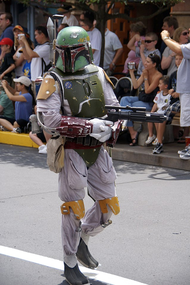 Star Wars Weekends - Boba Fett from The Empire Strikes Back and Return of the Jedi