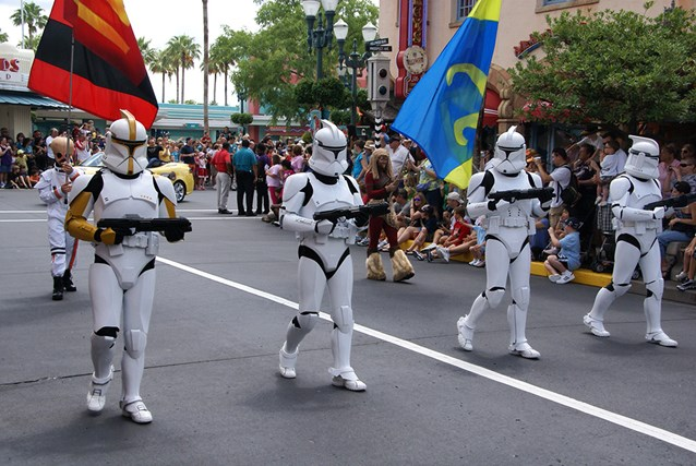 Star Wars Weekends - Clone Troopers from Attack of the Clones