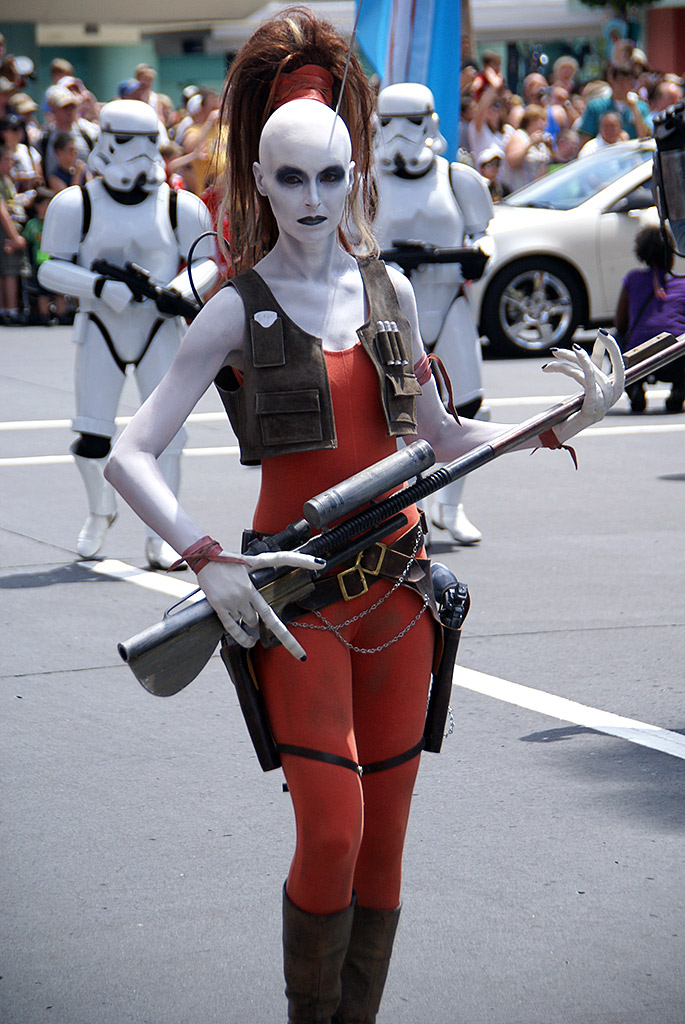 Star wars weekends aurra sing from star wars episode i the phantom