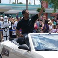 Star Wars Weekends - 2009 Star Wars Weekends Celebrity Motorcade - Jay Laga'aia (Captain Typho)
