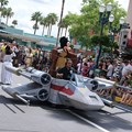 Star Wars Weekends - Jedi Mickey, Leia Minnie, and Vader Goofy