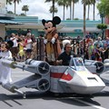 Star Wars Weekends - Jedi Mickey and Leia Minnie