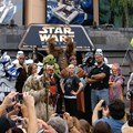 Star Wars Weekends - 2009 Star Wars Weekends Celebrity Welcome at the Event Stage - Ray Park (Darth Maul), Warwick Davis (Wicket the Ewok), 