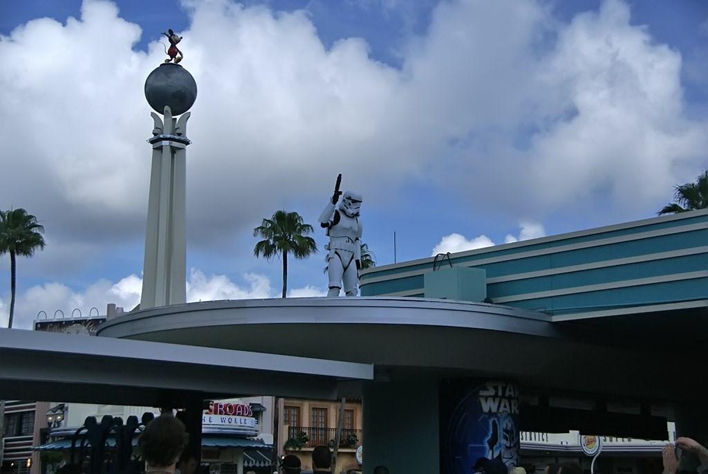 2009 Star Wars Weekends main entrance Storm Troopers