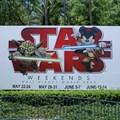 Star Wars Weekends - The Star Wars Weekends main entrance billboard