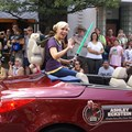 Star Wars Weekends - 2009 Star Wars Weekends Celebrity Motorcade - Ashley Eckstein (voice of Ahsoka Tano in Star Wars: The Clone Wars)
