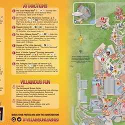 Villains Unleashed guide map