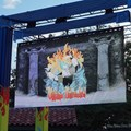 Villains Unleashed - Villains Unleashed - Park decor and video screen